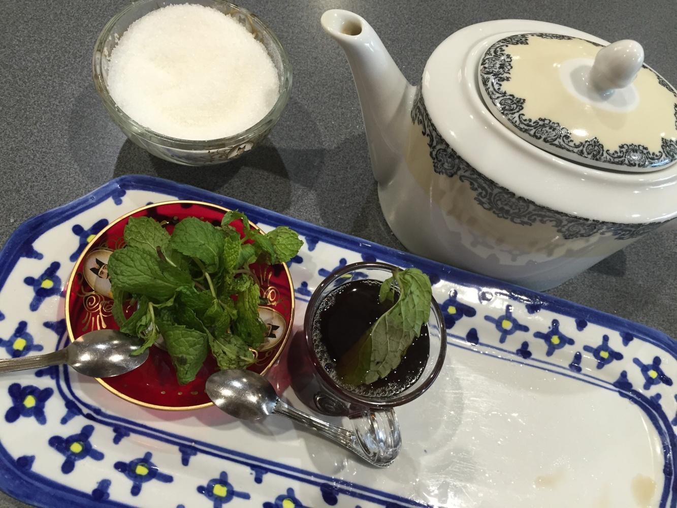 Tea at persain garden restaurant @ Persian Garden Restaurant - Bahrain
