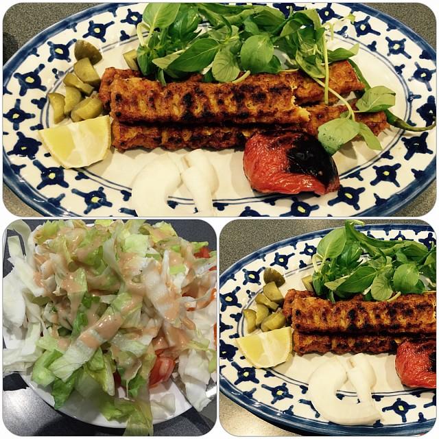 Iranian chicken kabab