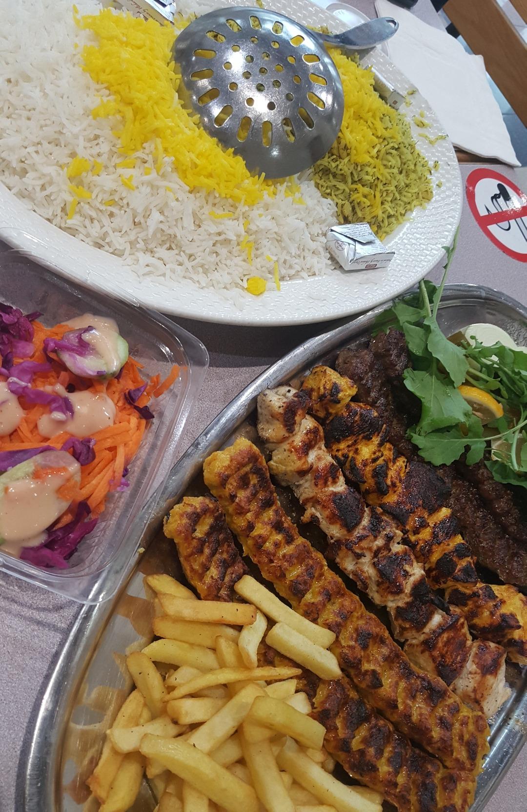 Persian mix grill👌 @ Persian Garden Restaurant - Bahrain