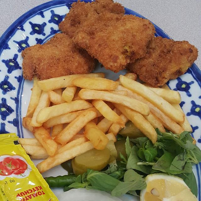 Fried fish hamoor. Yummy