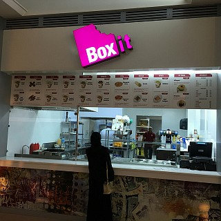 Box it restaurant in sitra mall