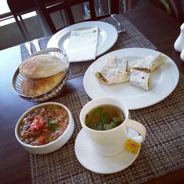 Delicious breakfast @ Zayt Zaytoon - Bahrain