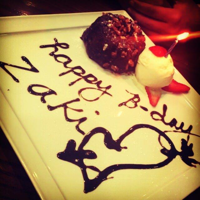 Birthday Molten Cake ❤