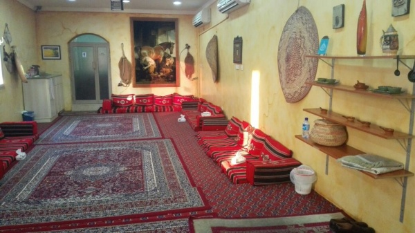 جلسات شعبية @ Al Najaf Sea Restaurant - Bahrain