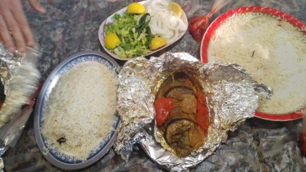 سمك البلطي بالفرن @ Al Najaf Sea Restaurant - Bahrain
