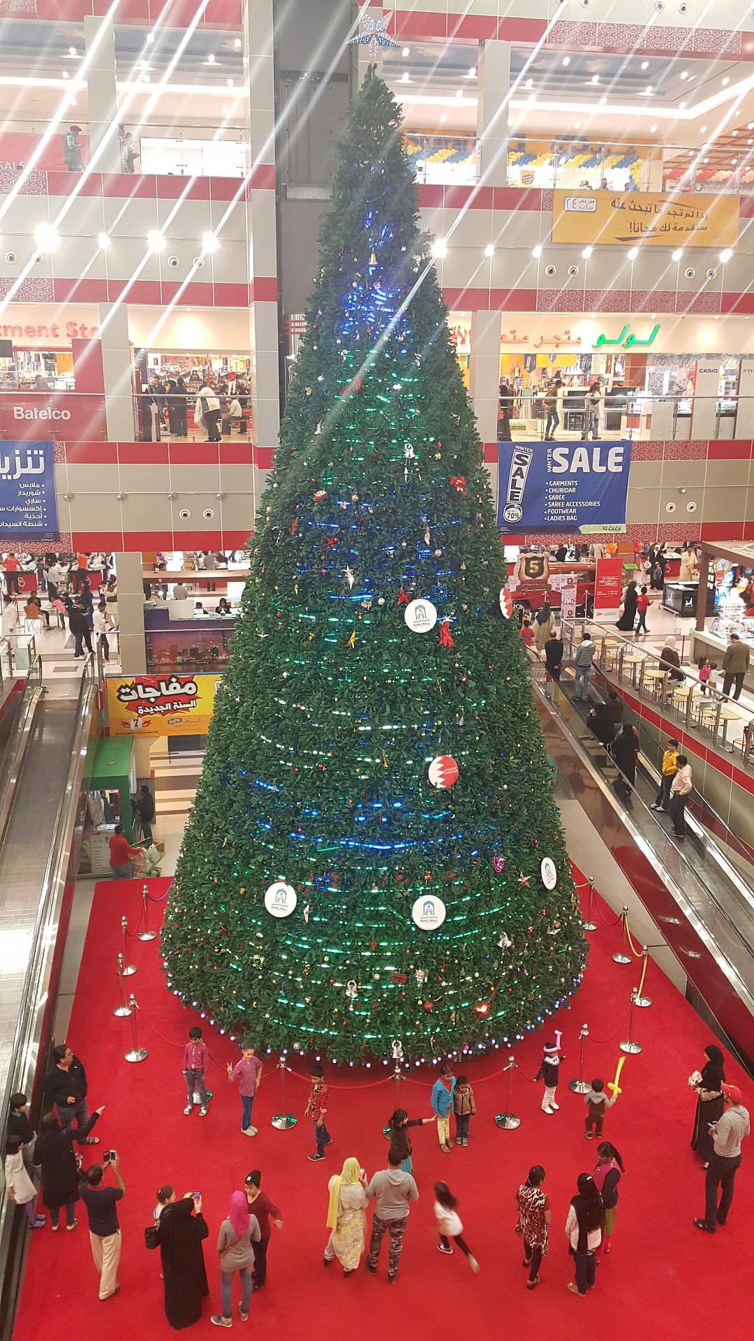 Happy new year🎄 @ Ramli Mall - Bahrain