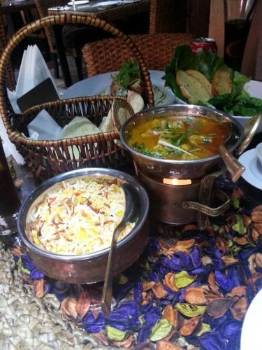 chicken kari @ Passion Restaurant And Cafe - Bahrain