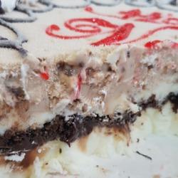 snickers #icecream cake