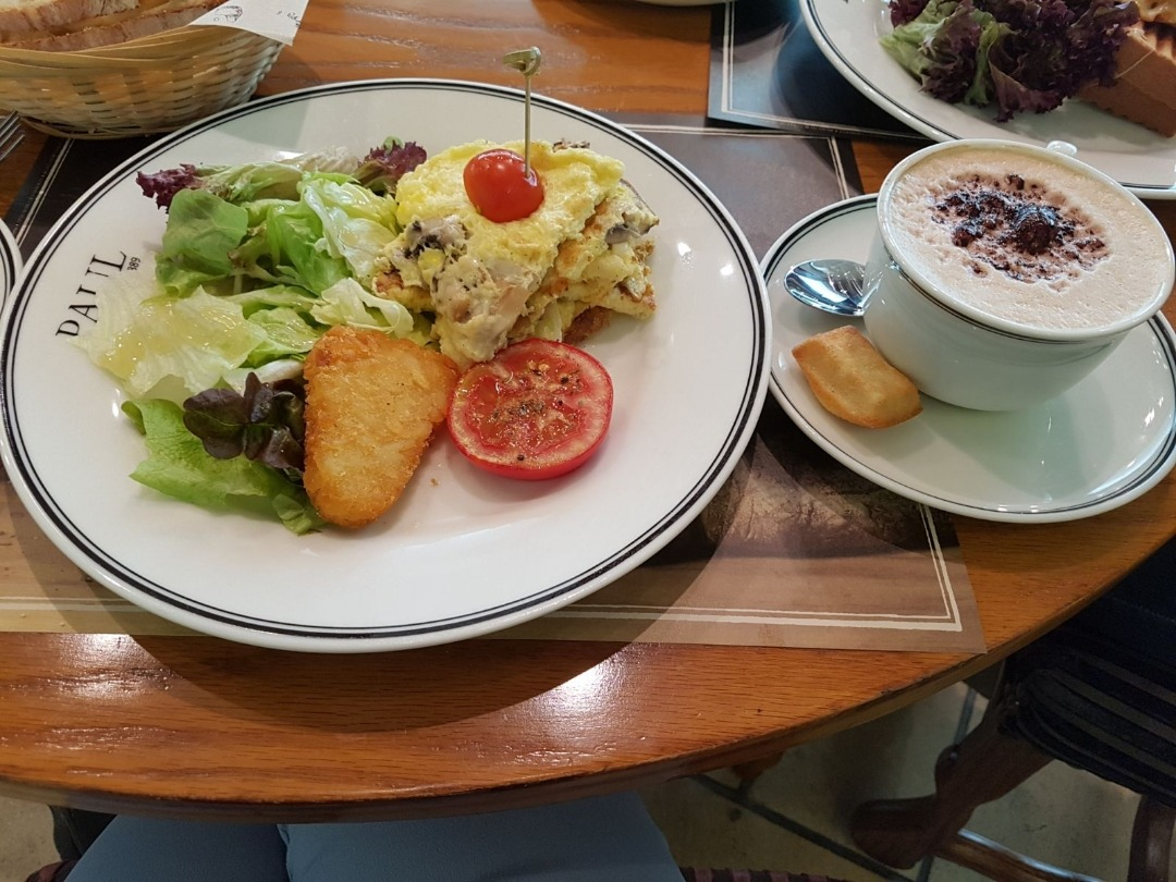 Yum breakfast! @ Paul cafe - Bahrain
