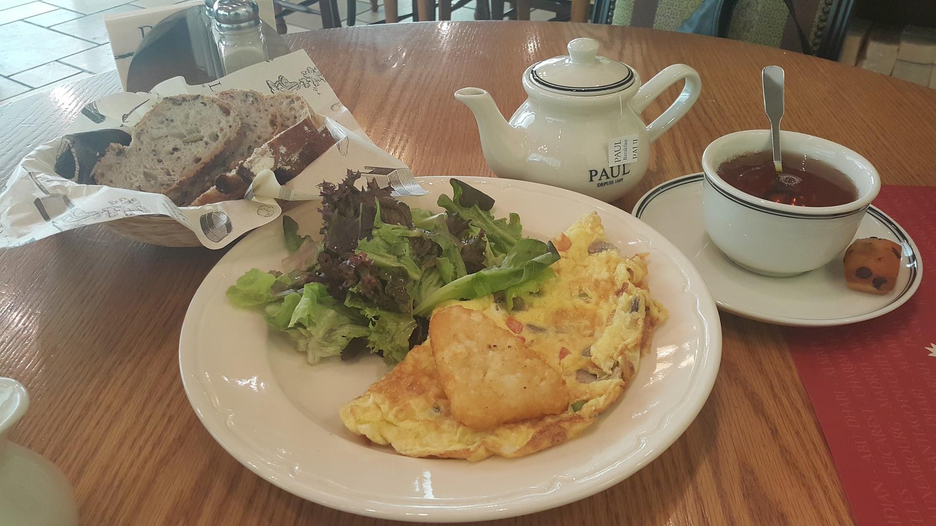 English #breakfast @ Paul Cafe - Bahrain