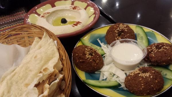 falafel @ Rice Bowl - Bahrain