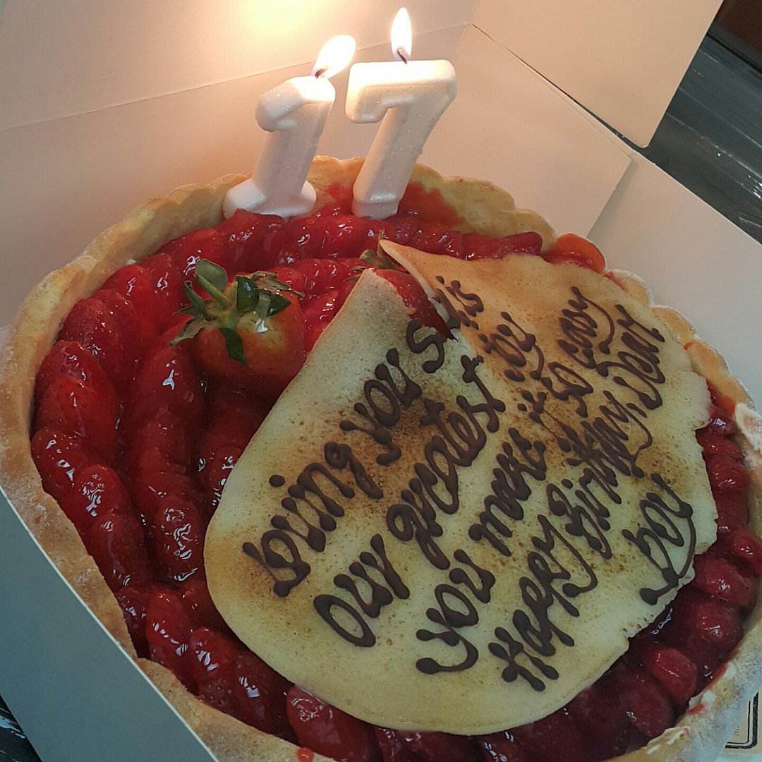 It was for my bday :p @ Paul cafe - Bahrain