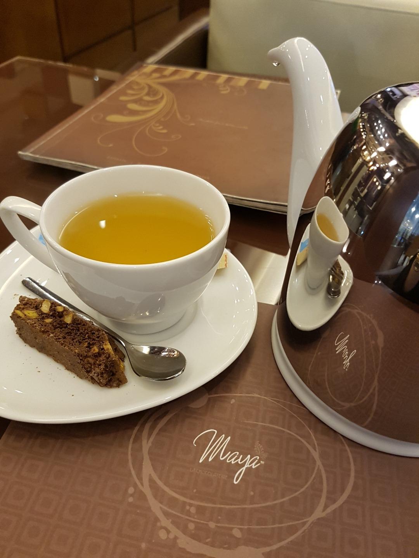 Moroccan Mint tea @ Maya La Chocolaterie - Bahrain