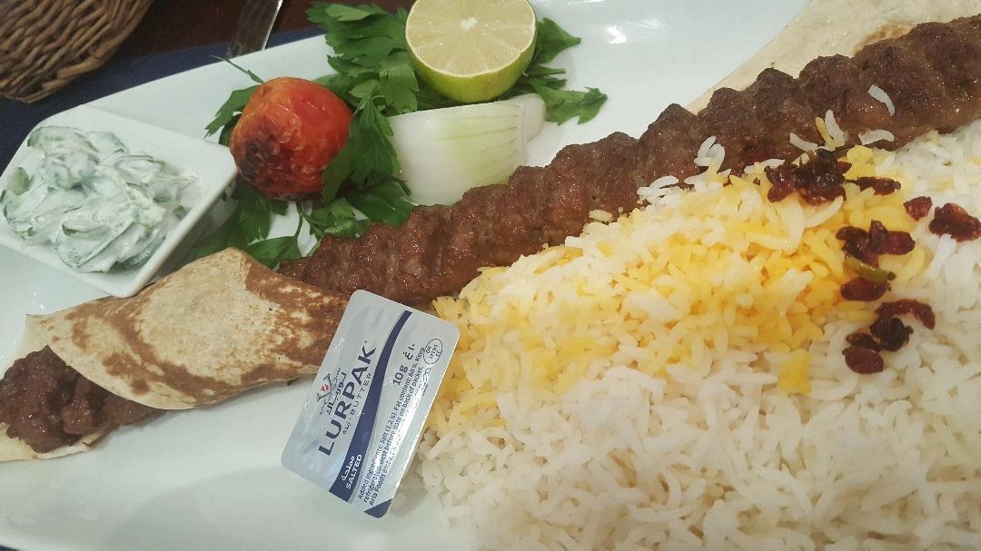 Chelo kabab @ Yas e Isfahani - Bahrain