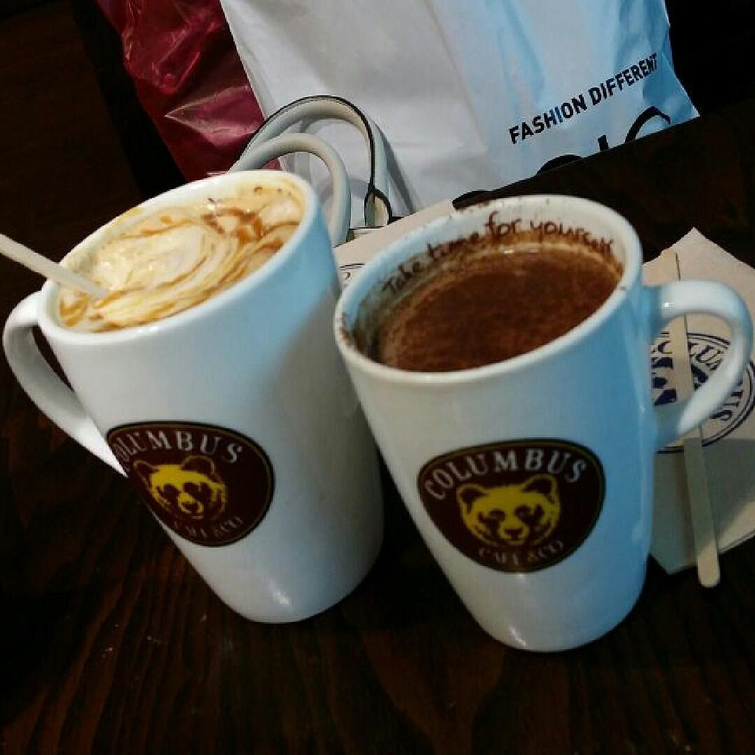 Cappuccino @ Columbus Cafe - Bahrain