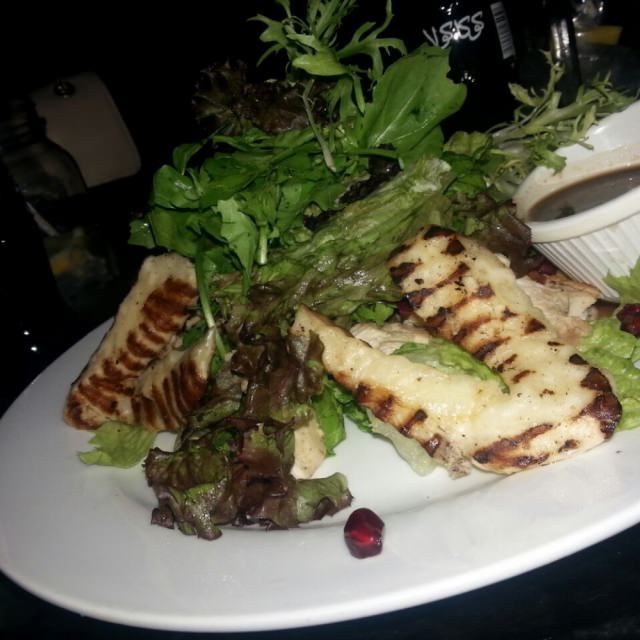 grilled hallomi cheese