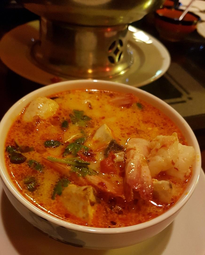 Tom Yom Soap @ Wang Thai Restaurant - Bahrain