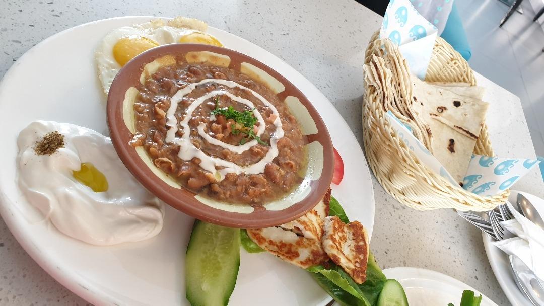 Lebanese Breakfast not good @ Med Cafe - Bahrain
