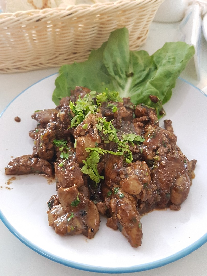 Chicken Liver @ Med Cafe - Bahrain
