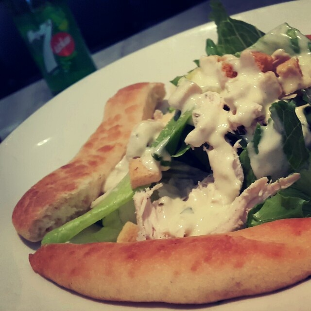 🍴 Ceasar Salad 🍴 @ Pizza Express - Bahrain