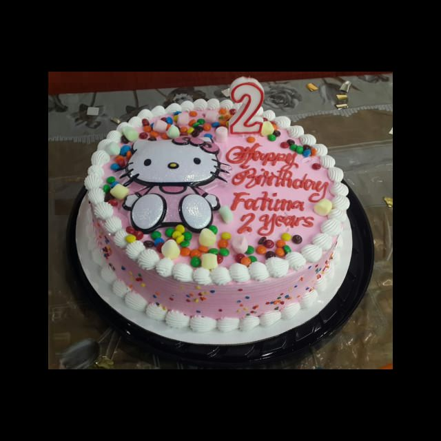ice-cream birthday cake