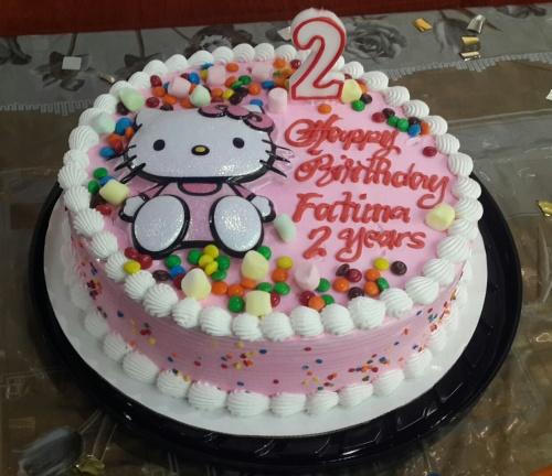 ice-cream birthday cake @ Dairy Queen - Bahrain
