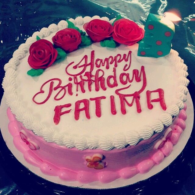 ❤Happy Birthday Sweet Fatima❤