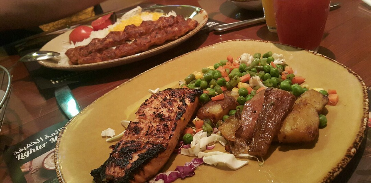 Grill salmon 🐟