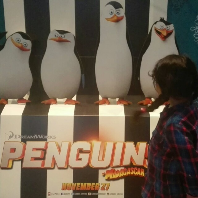 Penguins Of Madagascar @ Dana Cinemas - Bahrain