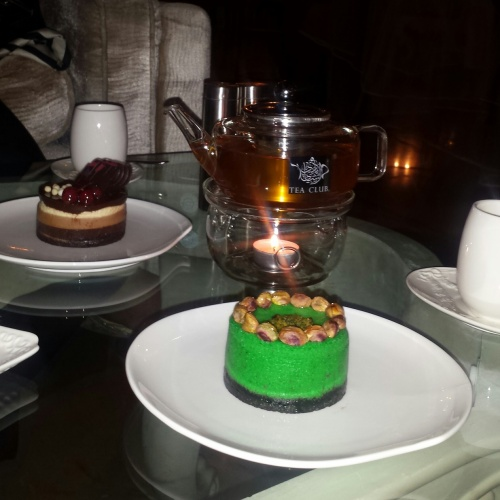 pistachio cheesecake @ Tea Club - Bahrain
