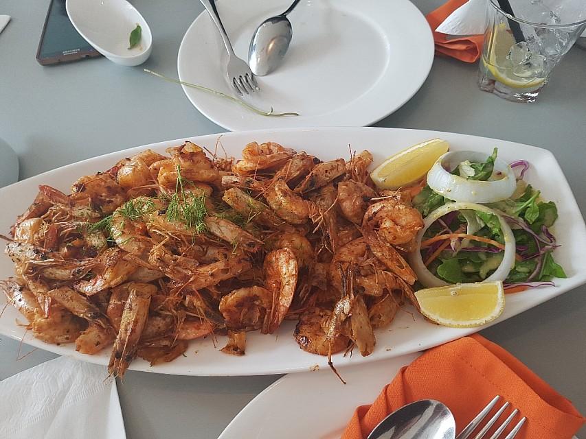60 pieces shrimp 8BD. nice but needs more salt