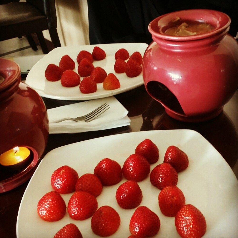 Chocolate fondo @ Angham Beirut - Bahrain