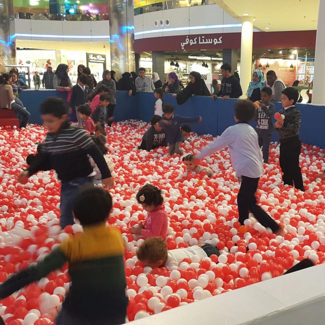 #kids are #enjoying @ Seef Mall - Bahrain