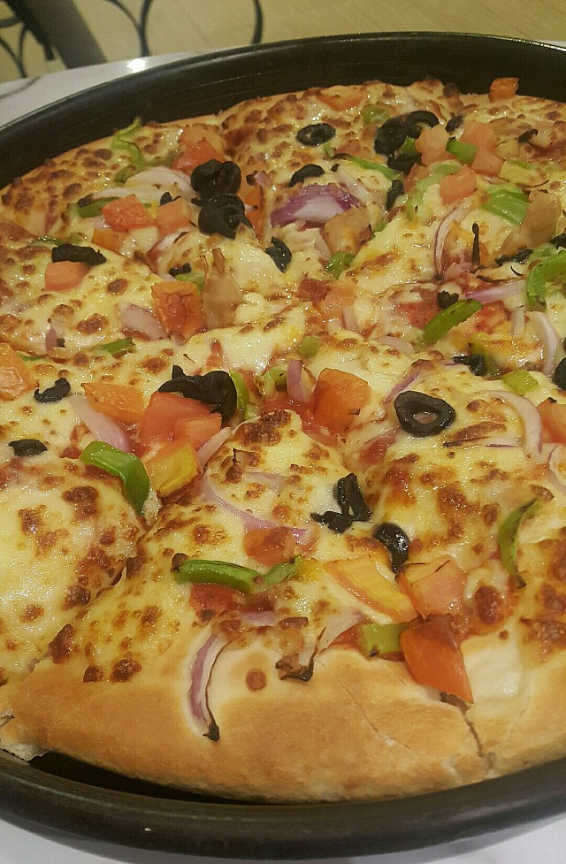 #pizza and family gathering