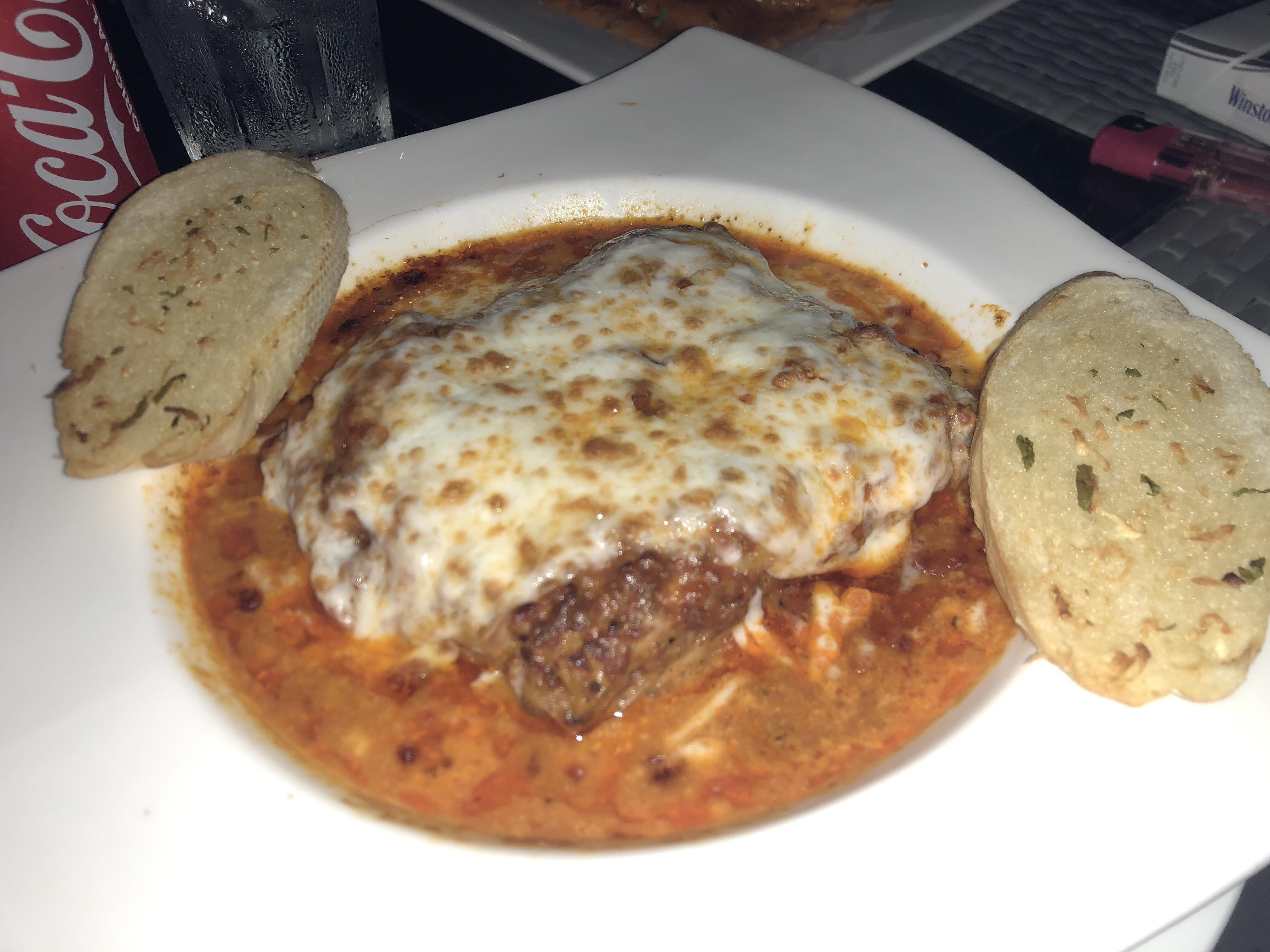 Lasagna @ Med Cafe - Bahrain