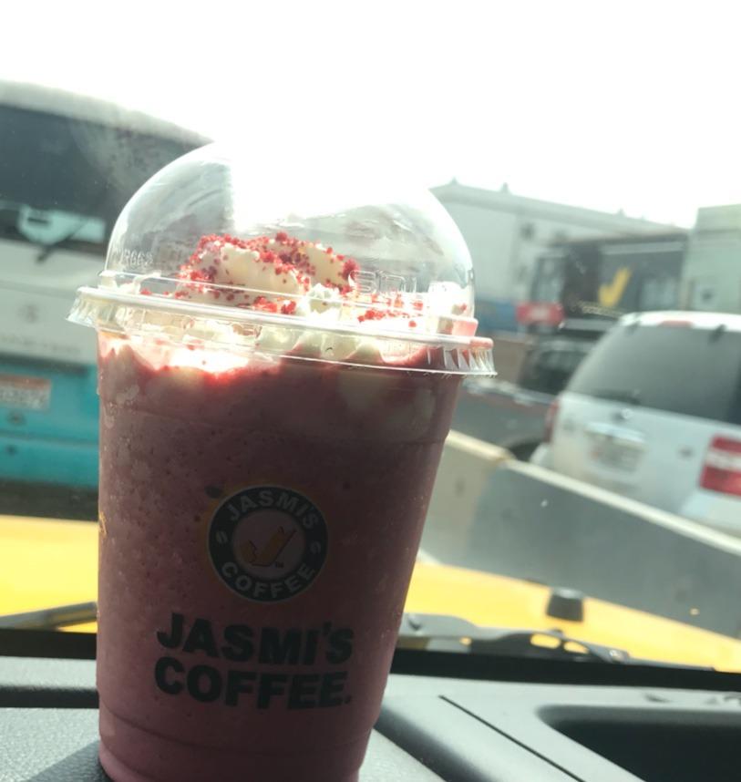 Red velvet @ Jasmi's Coffee - Bahrain
