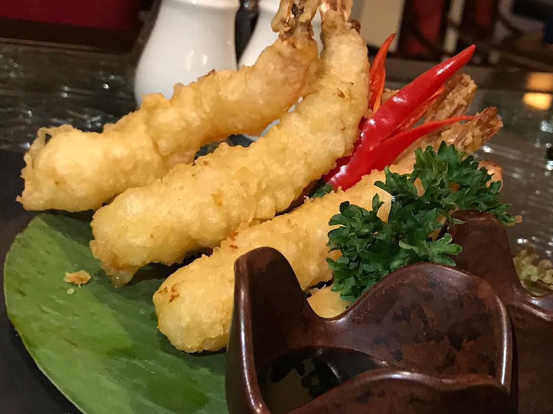 Shrimp tempura @ Keizo Restaurant - Bahrain