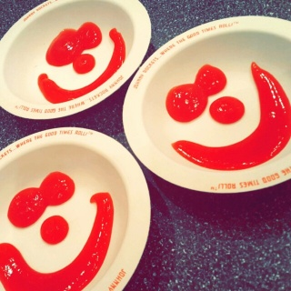 Happy ketchup ❤
