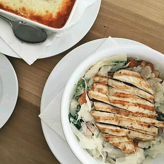 #salad #lasagna