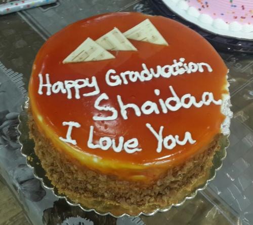 caramel cake @ Saadeddin Pastry - Bahrain