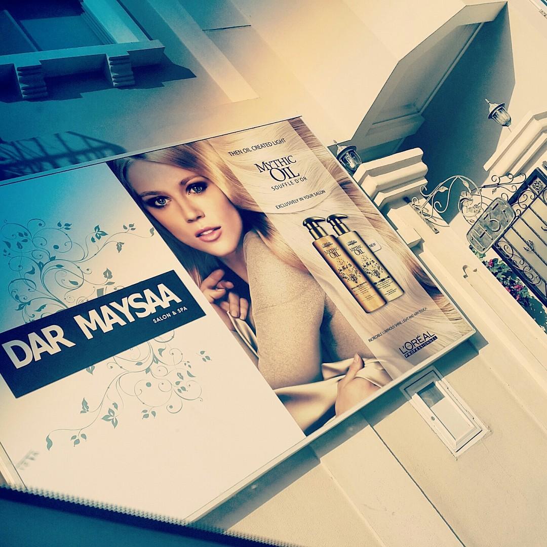 صالون نظيف و مرتب، الموظفات خبیرات ، مميز في التعامل ،خدمه ممتازه و شغل مضبوط 👌👌👌 @ Dar Maysaa Salon & Spa - Bahrain
