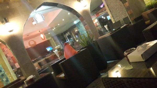 ديكورات جميلة و جلسة مريحه @ Masaya Cafe & Restaurant - Bahrain