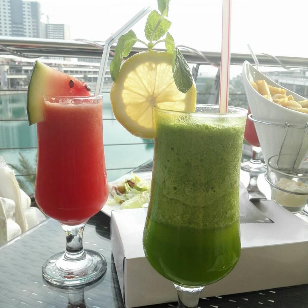 Fresh juices 🍹🍹 #juice @ La Casa - Bahrain