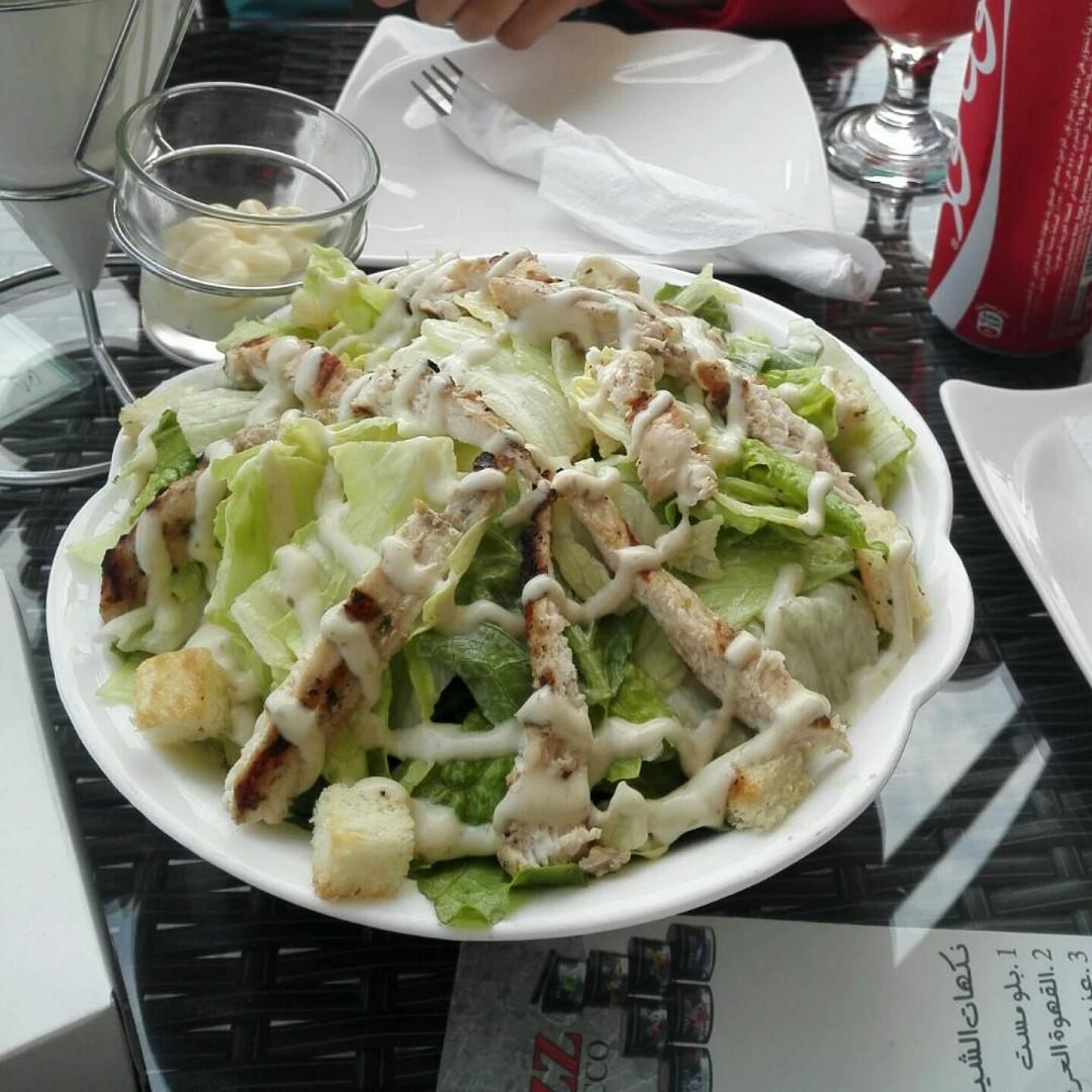 #Salad @ Lacasa Restaurant & Cafe - Bahrain