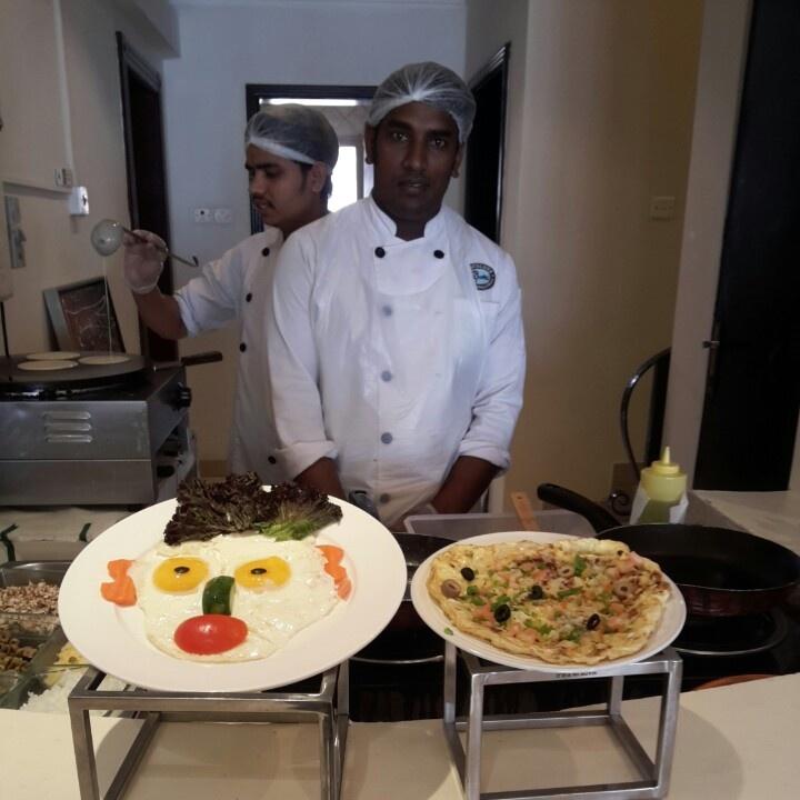 The Best Omelet Maker @ Choco Love Buffet Restaurant - Bahrain