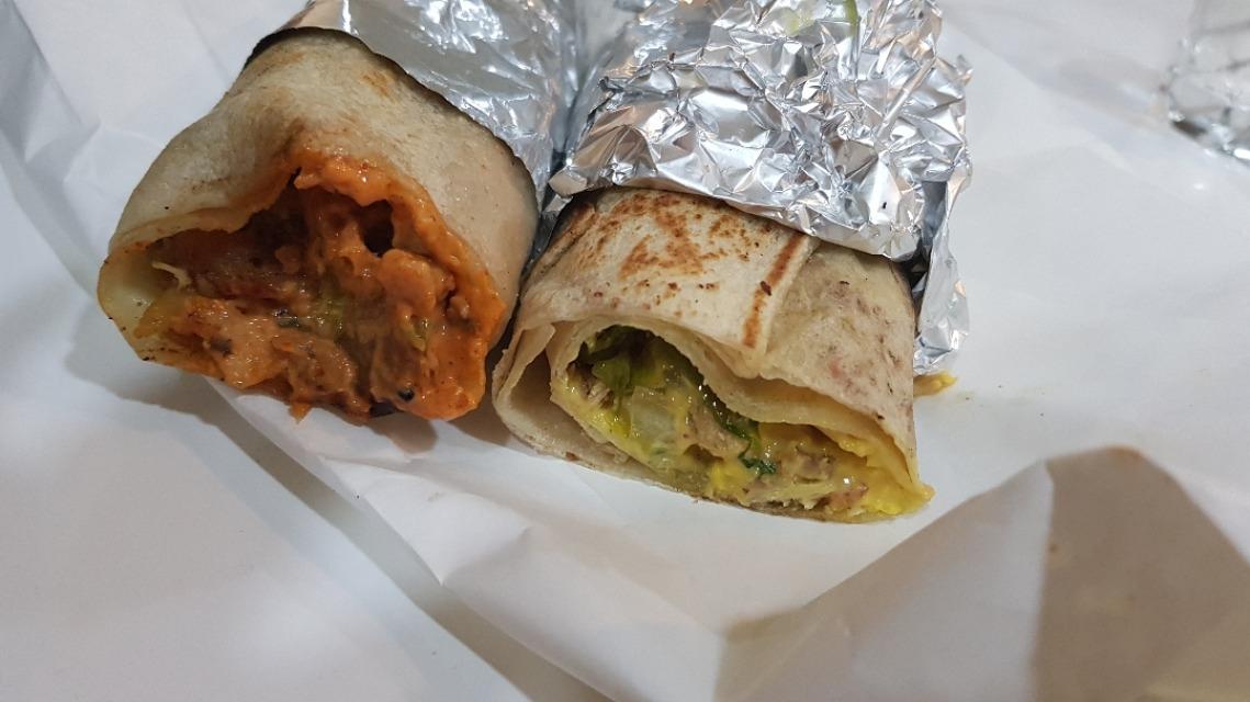 Mexican and Italian #shawarma 👌