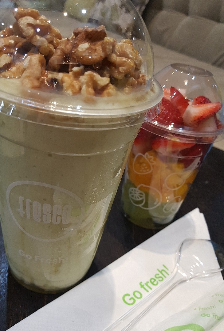 Go Fresh 👌 @ Fresco Juice Bar & Cafe - Bahrain