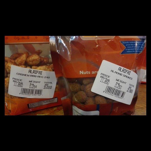 Almond smoked & Cashew BBQ