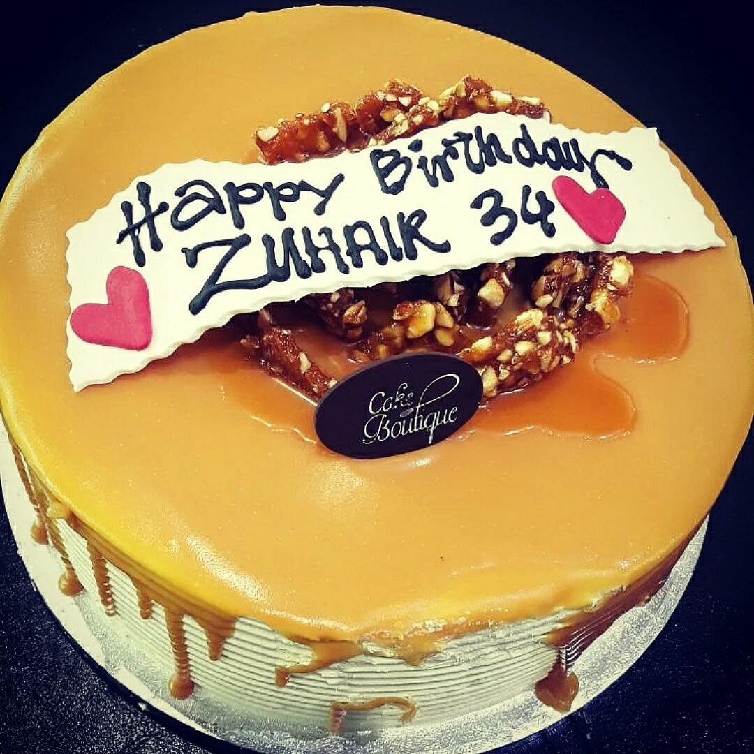 #happy_birthday Zuhair @ كيك بوتيك - البحرين