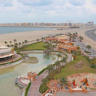 عمار يالبحرين 💚 منطقة الحد الجديد من برج منتزه الأمير خليفة